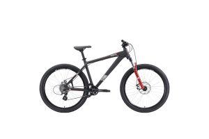 Велосипед Stark'20 Shooter-2 чёрный/белый/красный