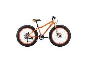 Велосипед Black One Monster 24 D оранжевый/серый HD00000394 2020-2021