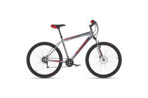 Велосипед Black One Hooligan 26 D серый/красный 2020-2021