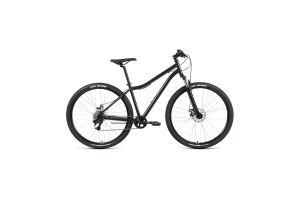 Велосипед 29' Forward Sporting 29 2.2 disc Черный/Темно-серый 20-21 г