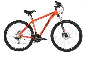 """Велосипед STINGER 27.5"""" ELEMENT EVO оранжевый, алюминий, размер 20"""""""