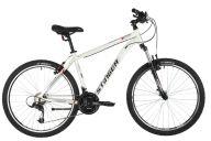 """Горный велосипед  STINGER 26"""" ELEMENT STD белый, алюминий, размер 18"""", MICROSHIFT"""