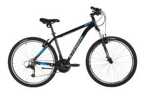 """Велосипед STINGER 27.5"""" ELEMENT STD черный, алюминий, размер 18"""", MICROSHIFT"""
