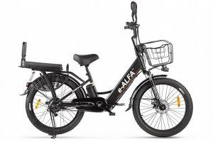 Велосипед Eltreco e-Alfa Fat (2021)