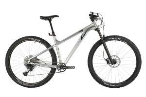 "Велосипед STINGER 29"" ZETA EVO серебристый, алюминий, размер 20"""