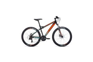 Велосипед 26' Forward Flash 26 2.2 S disc Черный/Оранжевый 20-21 г