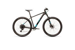 Велосипед CUBE ANALOG RS 27.5 (black'n'petrol) 2021