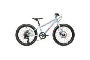 Велосипед CUBE ACID 200 Disc 20 (blue'n'coral) 2021