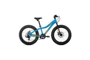Велосипед 20' Forward Bizon Micro 20 FatBike AL 7 ск 20-21 г